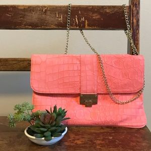 Mossimo Coral Large Clutch